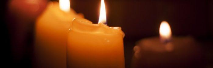 Rilassarsi a lume di candela