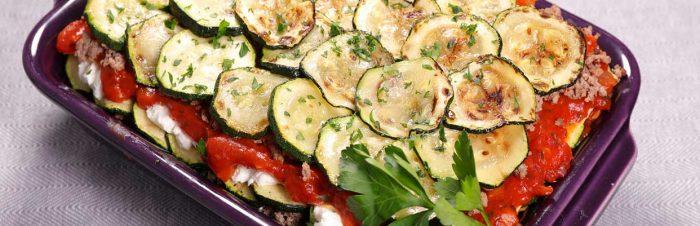lasagne a base di zucchine